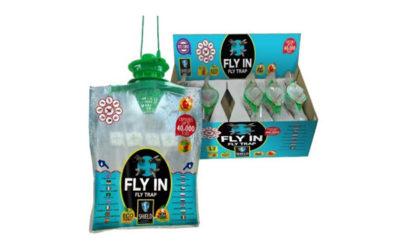 Fly-In – wyjątkowa, bezwonna pułapka na muchy
