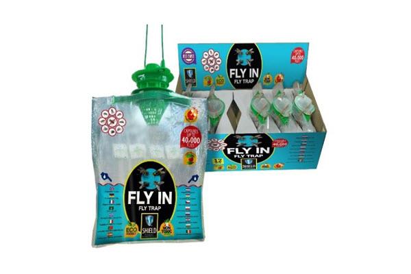 Fly-In –bezwonna pułapka na muchy